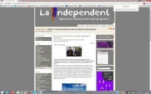INFORME REPERCUSION EN MEDIOS VI FORO INTERNACIONAL