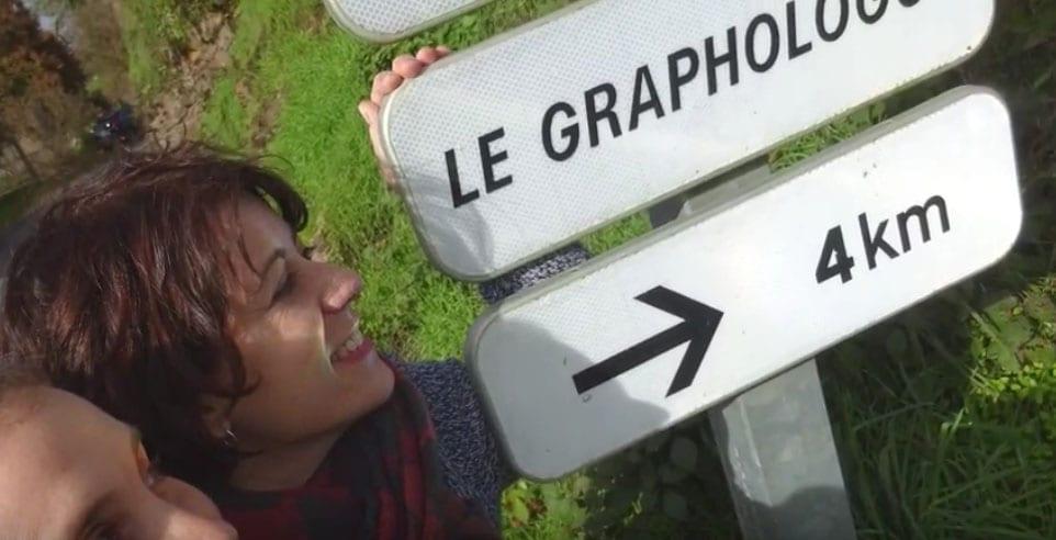 Grafólogas en ruta