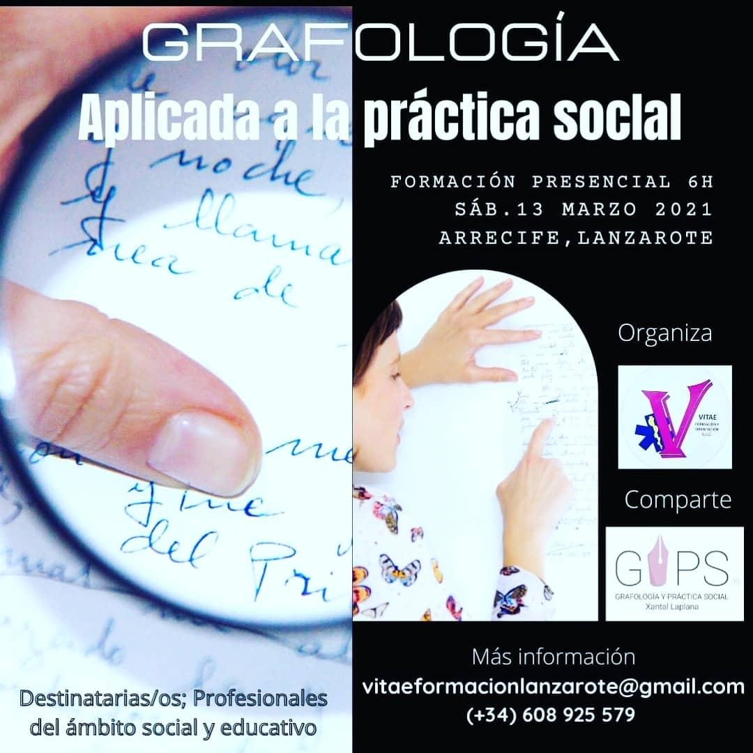 Formación: Grafología Aplicada a la Práctica Social